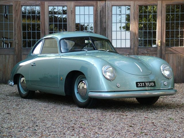 1951 Porsche 356 Pre A Coupe Chassis No 5447 Cars