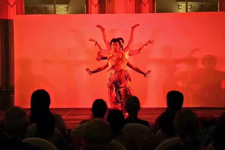 Dr.Maya Rao's acclaimed choreographic piece 'Tandava' inspired from temple architecture  and the Natya Shastra   More info on www.stemdancekampni. in