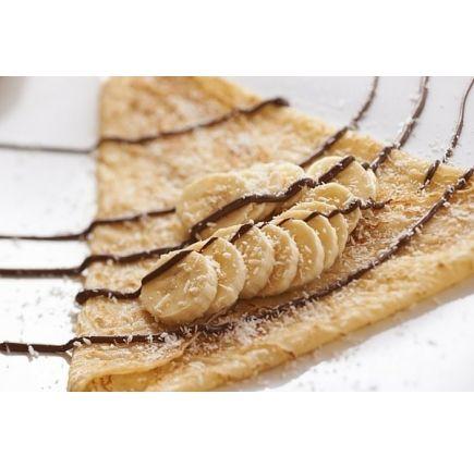 CRÊPE COCO LINÉADIET En-cas hyperprotéiné  (7 sachets de 29g)  Retrouvez toute la saveur d'une bonne crêpe à la noix de coco, avec cette préparation livrée en boîte de 7 sachets, pour autant d'en-cas ou de desserts sucrés à préparer en quelques minutes. Cette crêpe hyperprotéinée permet de se faire plaisir dans le cadre de votre régime protéiné, puisque sa teneur en glucides et lipides est très réduite. Profitez-en dès aujourd'hui !