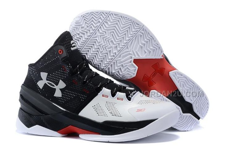 Under Armour Curry 2 White/Black-Red