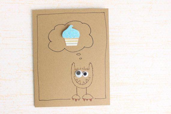 Funny Birthday Card  Unisex Birthday Card  Silly by kraze4paper, $4.50