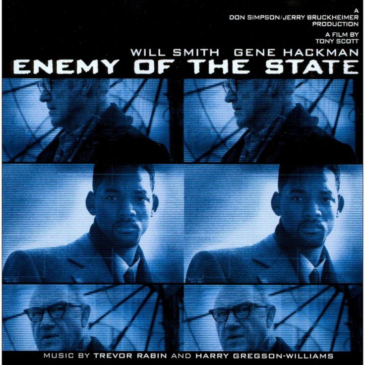Trevor Rabin & Harry Gregson-Williams - Enemy of the State (CD)