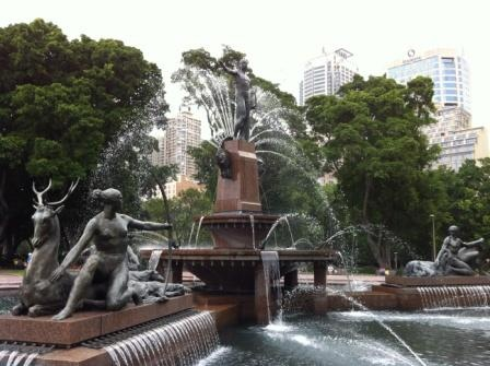 HYDE PARK was named after the original Hyde Park in London. It started out as the city's first racecourse and later became its first cricket ground. In 1856, Hyde Park was converted into public gardens and today, the 6.5 hectares park is Sydney's favourite recreation area in the city.