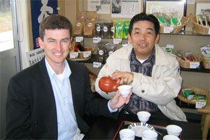 Jeff Egan in Japan
