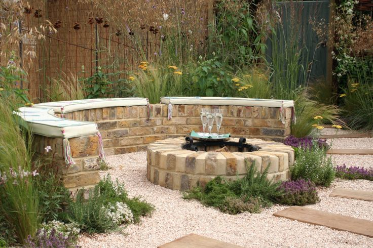 Fire Pit For Small Backyard :  Patio Ideas For Small Yards  Fire Pits, Build A Fire Pit and Fire