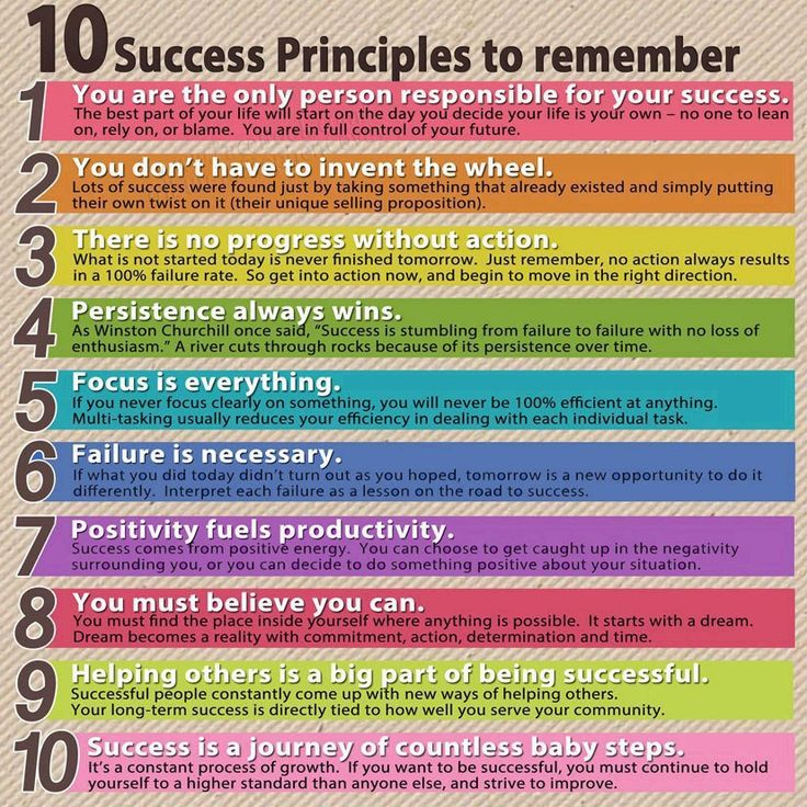 10 things to remember when aiming for success at school #students #studying #exams