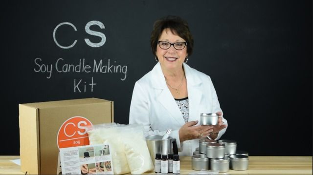 Wistia video thumbnail - Soy Candle Making Kit Instructional Guide - CandleScience