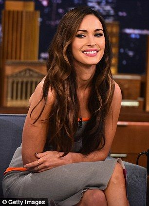 Megan Fox on The Tonight Show Starring Jimmy Fallon. via MailOnline