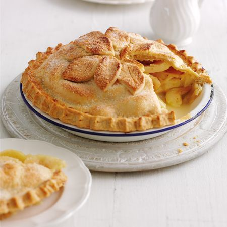 Mary Berry's Cookery Course: double-crust apple pie recipe