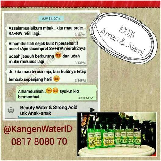 Hub. Ibu RA Dewi W. Kartika 0817808070(XL), Manfaat Kangen Beauty Water, Jual Beauty Water Surabaya, Fungsi Beauty Water, Kegunaan Beauty Water, Strong Acid