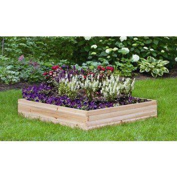 Raised Garden Kit cedar wood (48x48)