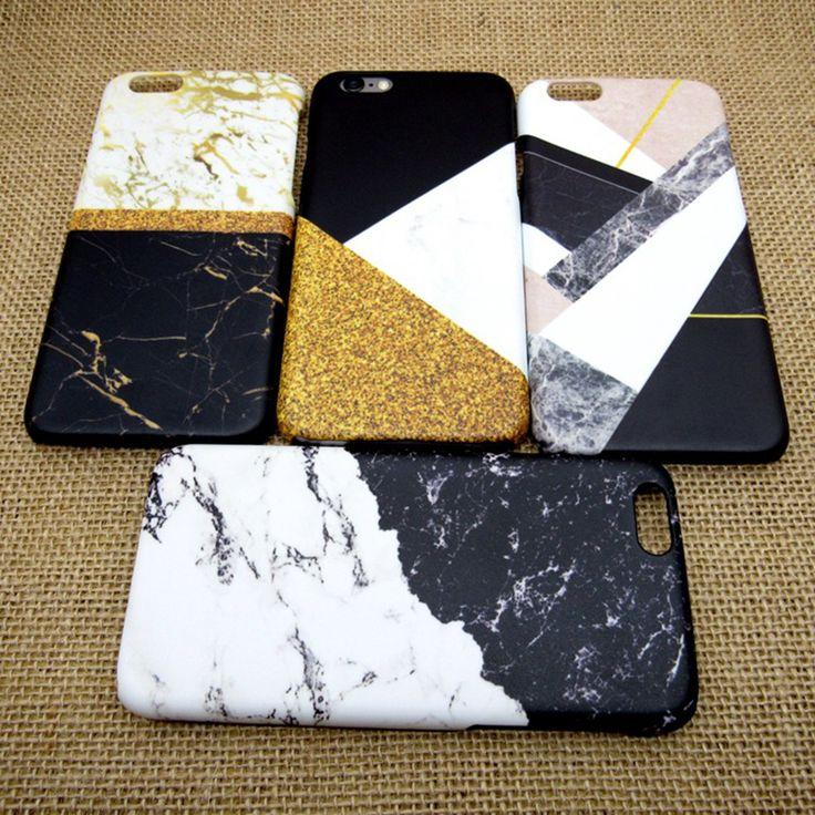 ファッション大理石coqueカバー電話ケースのためのiphone 7 6 6 sプラス5 s se 3d熱伝達プロセス表面つや消しを感じる
