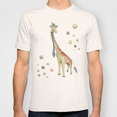 Giraffe T-shirt by Carina Povarchik - $18.00