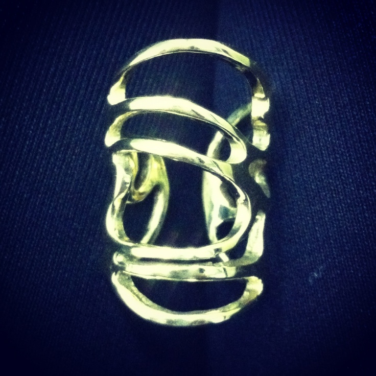 Line collection 3 ! Brass ring  is now available by B-Tal Jewellery !!