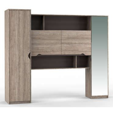 <p><strong>Le meuble pont VISION</strong> au look contemporain apportera une touche moderne à votre chambre grâce à ses lignes sobres et son coloris tendance ! <br />En       plus d'être beau, ce meuble pont est aussi très pratique ! Il vous       donne la possibilité d'optimiser au mieux l'espace de   votre  chambre       en vous offrant de nombreux espaces de rangement suppl&eac...