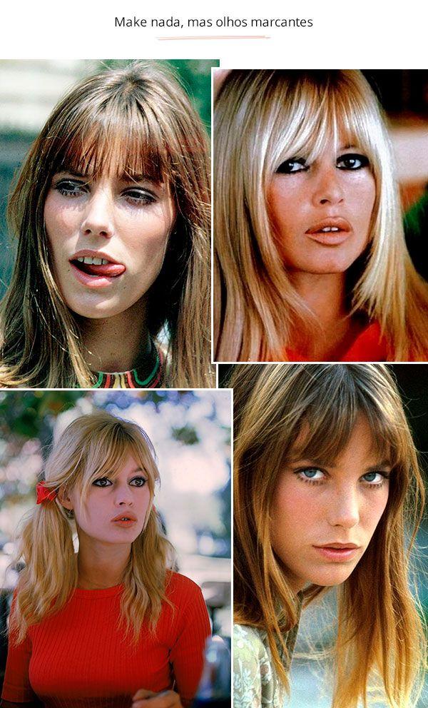 f6bcf476b8d0f Jane Birkin e Brigitte Bardot - vintage - olhos marcantes - verão e inverno  - street style