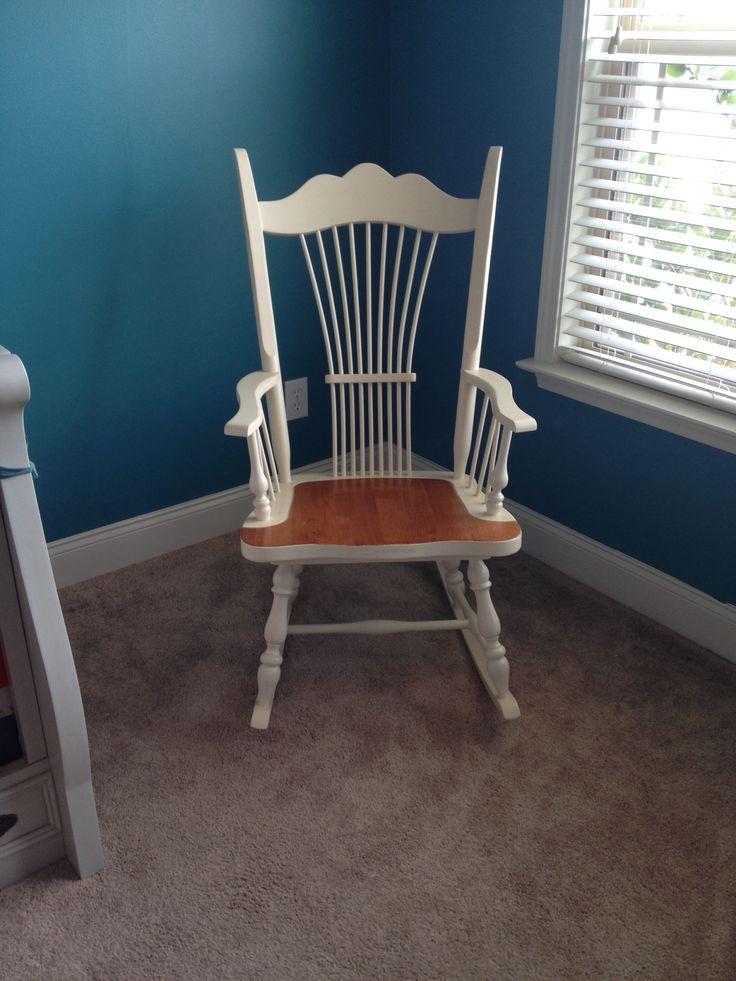 Rocking chair in nursery.  Rocking Chairs  Pinterest