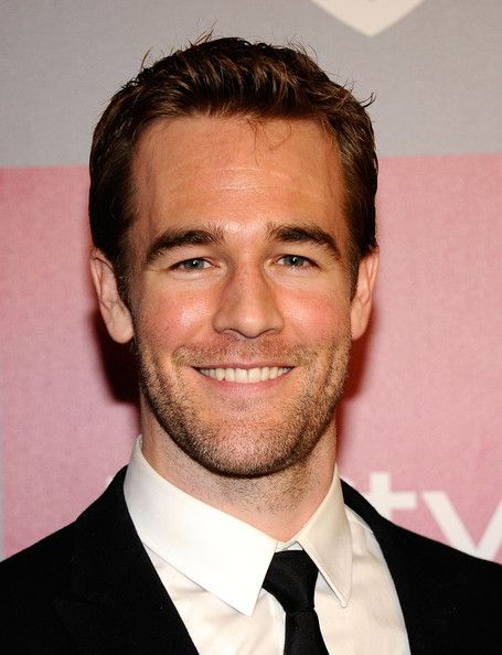 James Van Der Beek..charming smile on him.  Dawson grew up pretty nice!