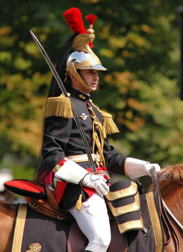 Capitaine du Régiment de Cavalerie de la Garde Républicaine - Gendarmerie Nationale - France
