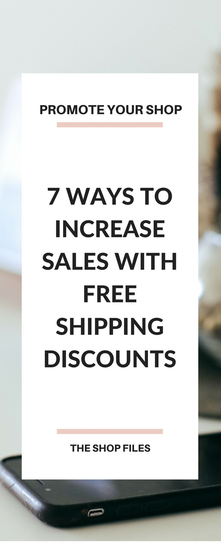 Make Money Online Shops | Seven Ways to Use Free Shipping Discounts to Increase Sales - How to Increase Sales in Your Etsy Shop or Online Store this Holiday Season