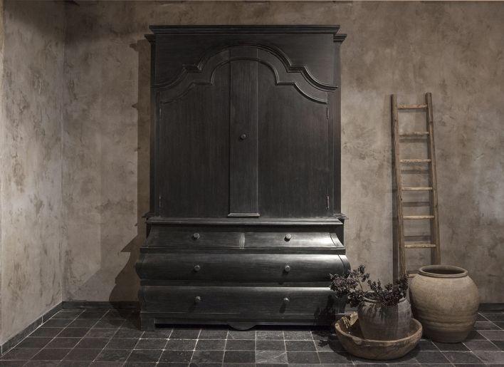 Kabinet oud zwart
