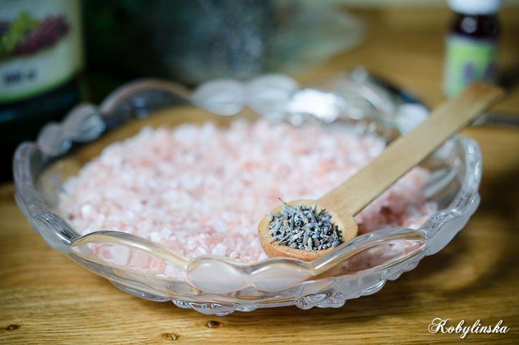 lavender Himalayan salt