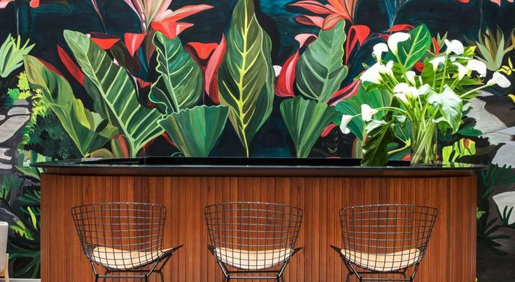 Интерьеры отеля Arroyo: тропический оазис среди городских джунглей