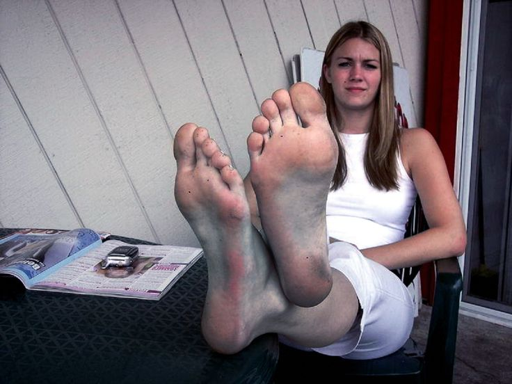 Dirty Soles And Feet Teen 119