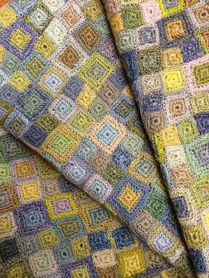 Luccello - SOPHIE DIGARD Crochet BABY BLANKET 04
