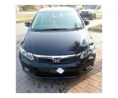 Honda Civic black Color Model 2015 Vti Automatic For Sale In Rawalpindi