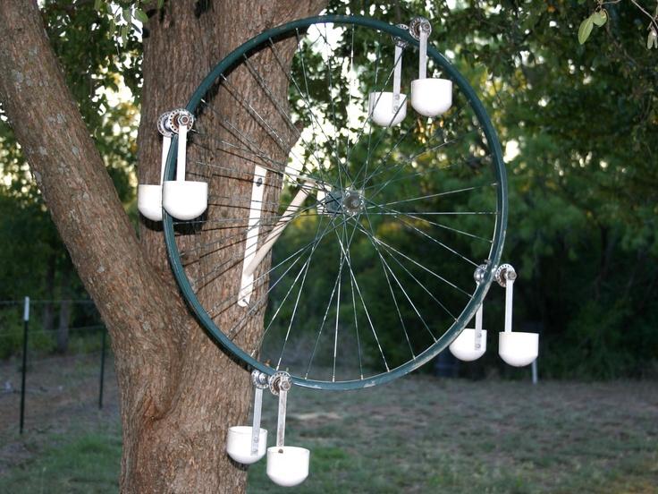 Bicycle Tire Bird Feeder Bird Feeder Bird Feeders
