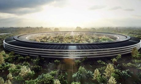 Lord Norman Foster reveals his designs for the new $5bn Apple HQ