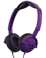 SKULLCANDY LOWRIDER HEADPHONES - ATHLETIC PURPLE on http://www.surfstitch.com