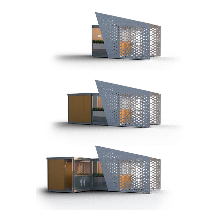 Les 10 meilleures images propos de micro architecture for Architecture parametrique