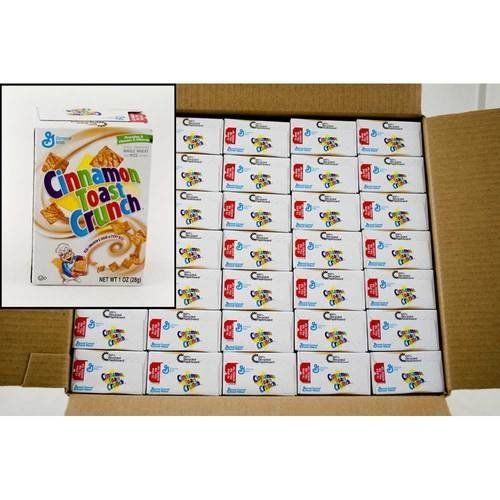 General Mills Cinnamon Toast Crunch Cereal 1Ounce Single Serve Box Pack of 70 ** Visit the image link more details.