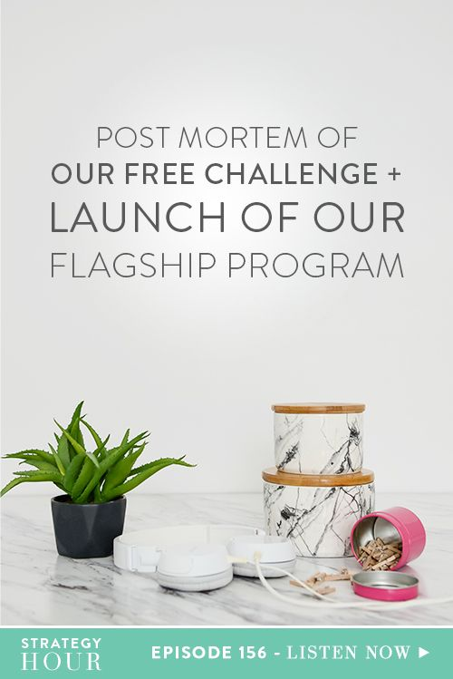 Post Mortem of Our Free Challenge + Launch of Our Flagship