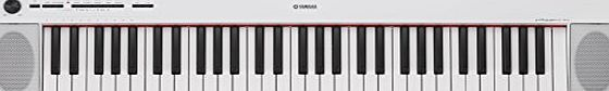 Yamaha NP12 Digital Piano - White The new Piaggero NP Series has improved sound and a range of exciting new features. Available in both black and white, NP-12 and NP-32 replace NP-11 and NP-31 and are shi (Barcode EAN = 4957812593953) http://www.comparestoreprices.co.uk/december-2016-week-1-b/yamaha-np12-digital-piano--white.asp