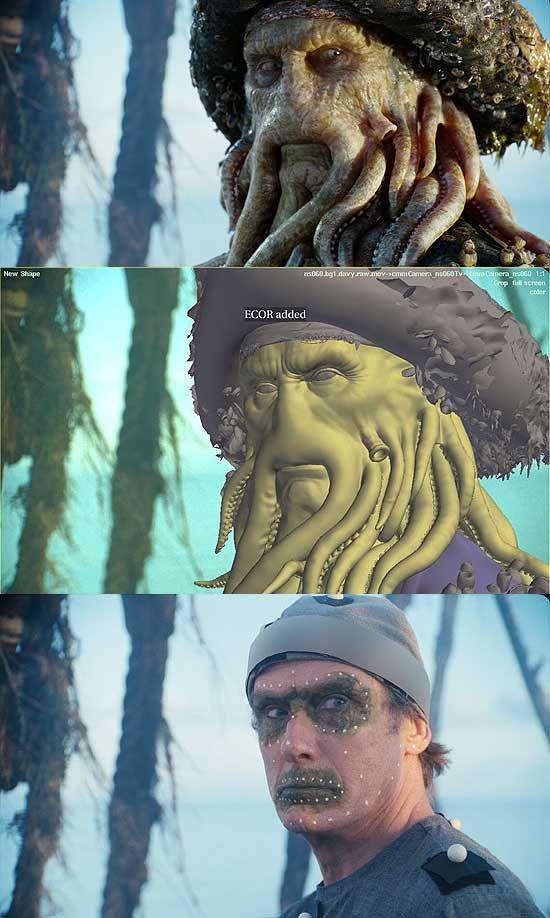 Davy Jones - Pirates of the Caribbean Encyclopedia