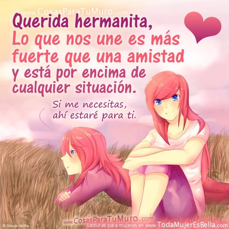poemas de hermanas