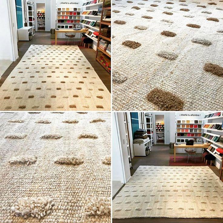 D a chequeando alfombras de clientes hechas a medida dos - Alfombras hechas a mano con lana ...