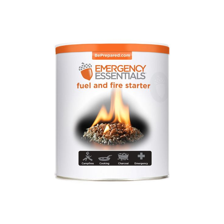 Fired up emergency preparedness fuel firestarter small