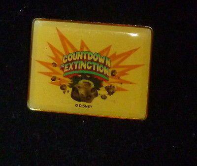 Disney Countdown Extinction Pin