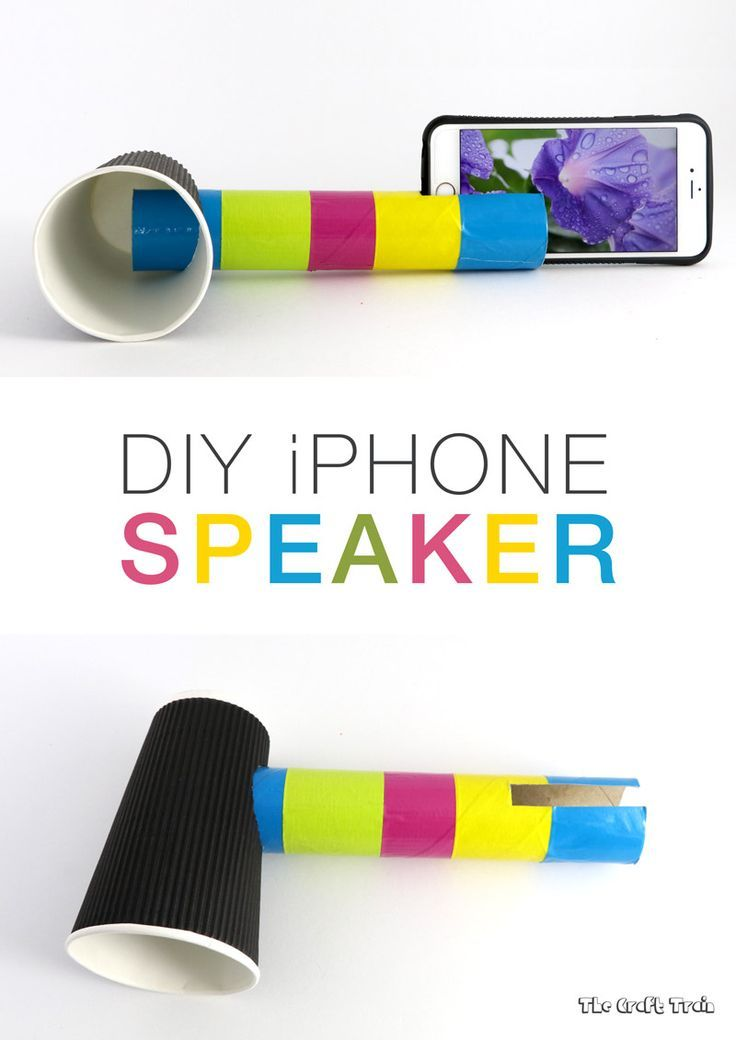 DIY iPhone Speaker to learn about sound