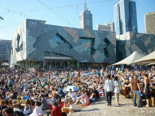 #Plaza de la Federación, Melbourne, Australia