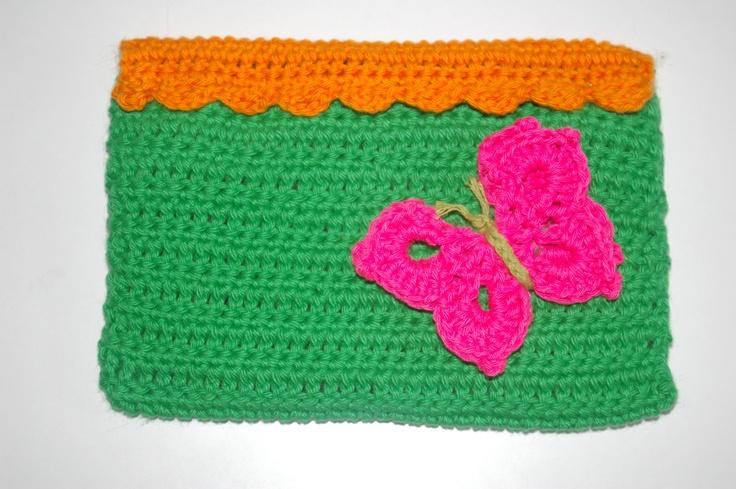 crochet multipurpose wallet