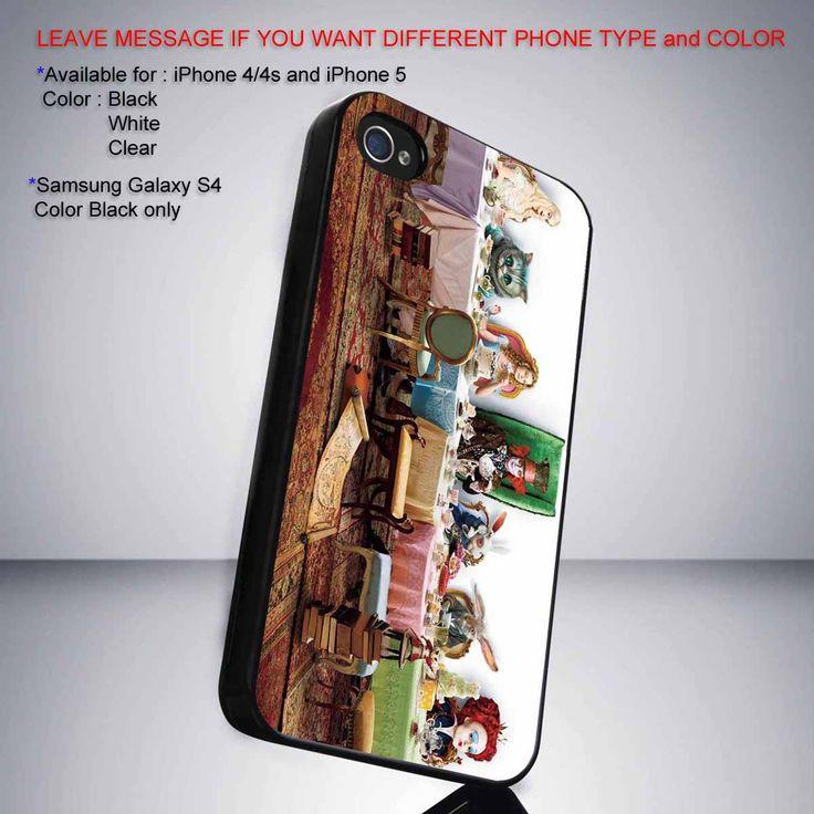 Alive in Wonderland Dinner iPhone 5 BLACK case