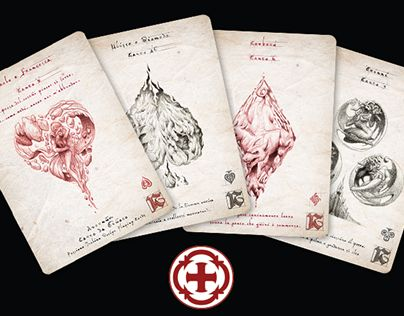 Avernum - Passione playing cards