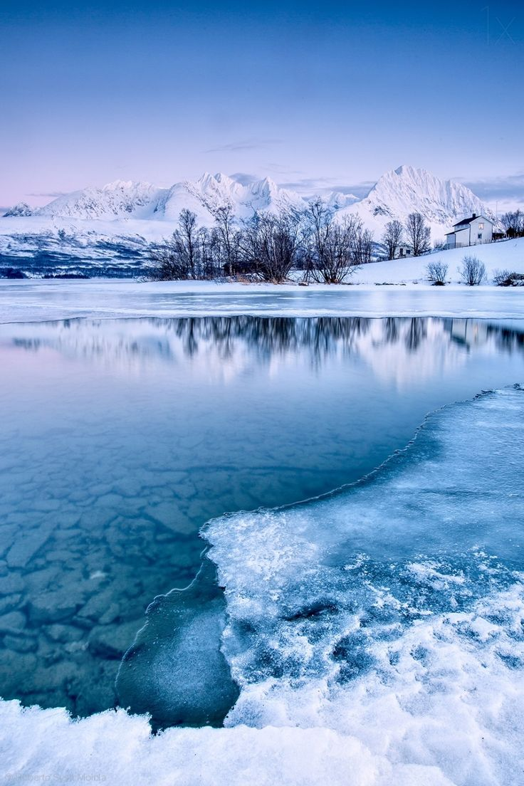 Blue Ice - Lyngen Alps, Tromso, Norway