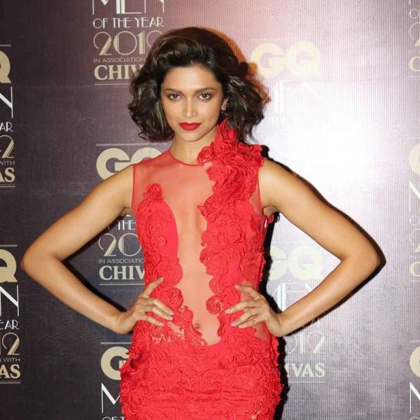 Deepika Padukone has also gone retro glam. We dig the short hair and bright red lips. While the gown is sexy, the shade of red is a tad cheap.
