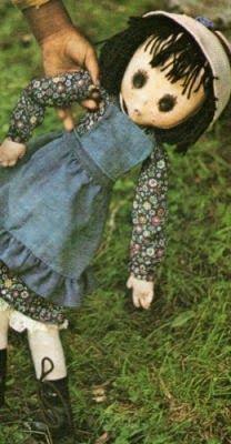 Fai da te: Bambole di stoffa